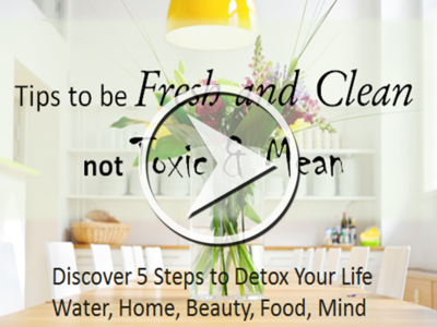 Tips to be Toxin FREE