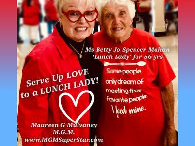 Lunch Ladies Helping Lunch Ladies with HEART