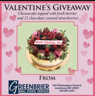 Valentine's Day Giveaway Winner Announced