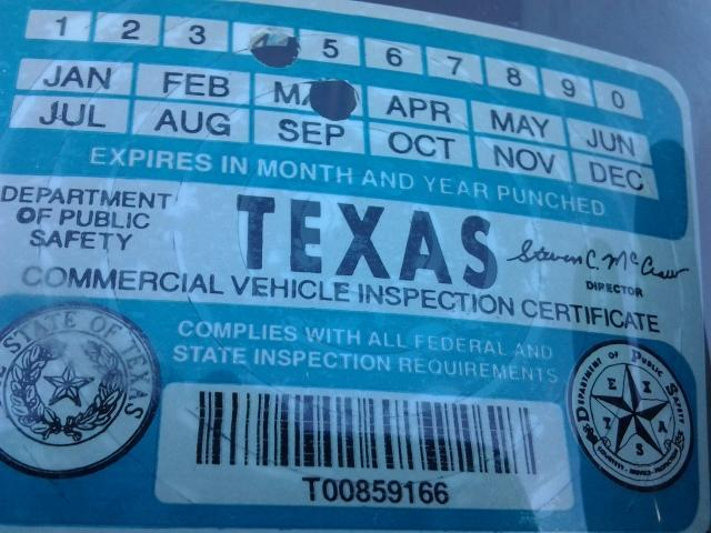 TX Inspections are Now Stickerless