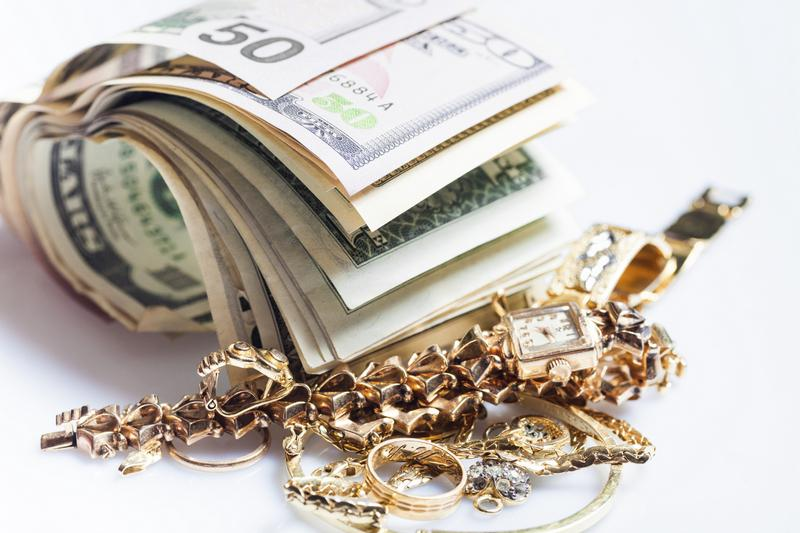 Pawnshop - gold, platinum, silver, necklaces, rings, jewelry