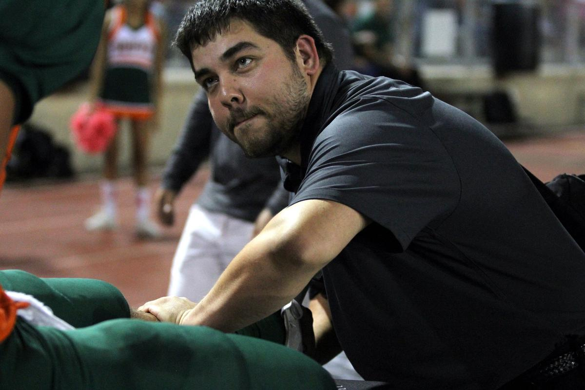 Day 13 Athletic Trainer Spotlight- Michael Arellano