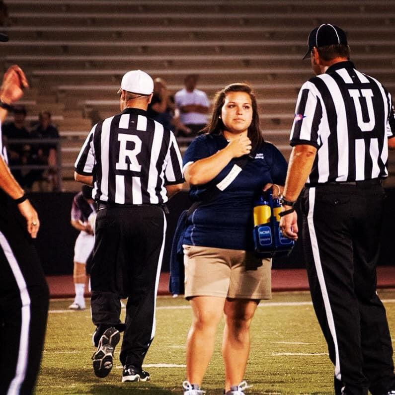 Day 16 Athletic Trainer Spotlight- Jessi Galindo