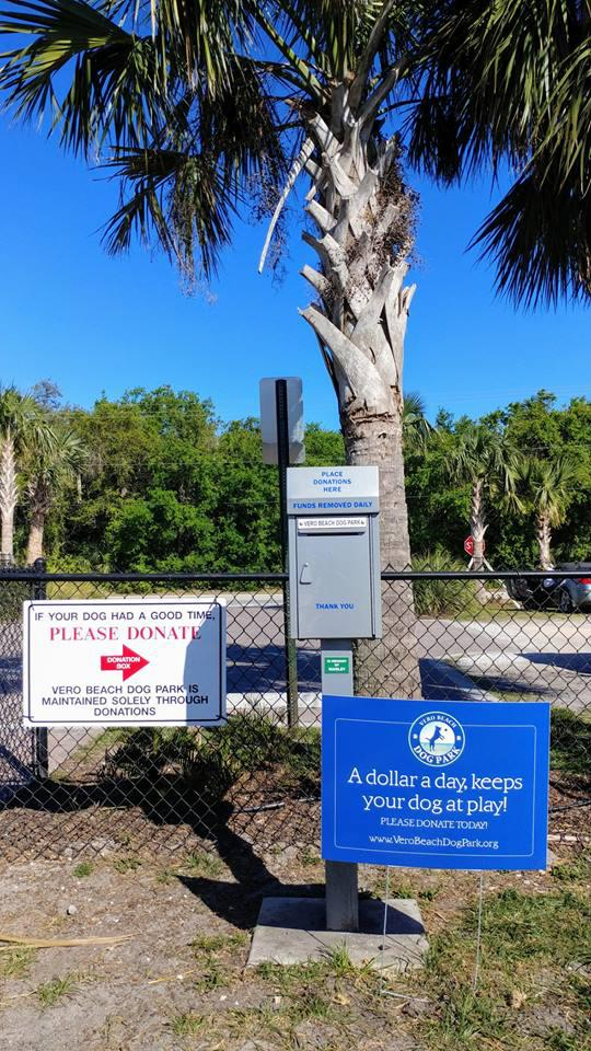 Take A Walk In The Park day at Vero Beach Dog Park!