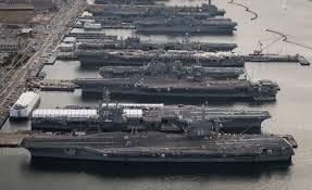 US Navy Down to Five Aircraft Carriers!
