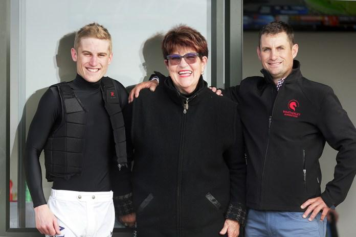 Brindley thrilled to be part of first synthetic track win