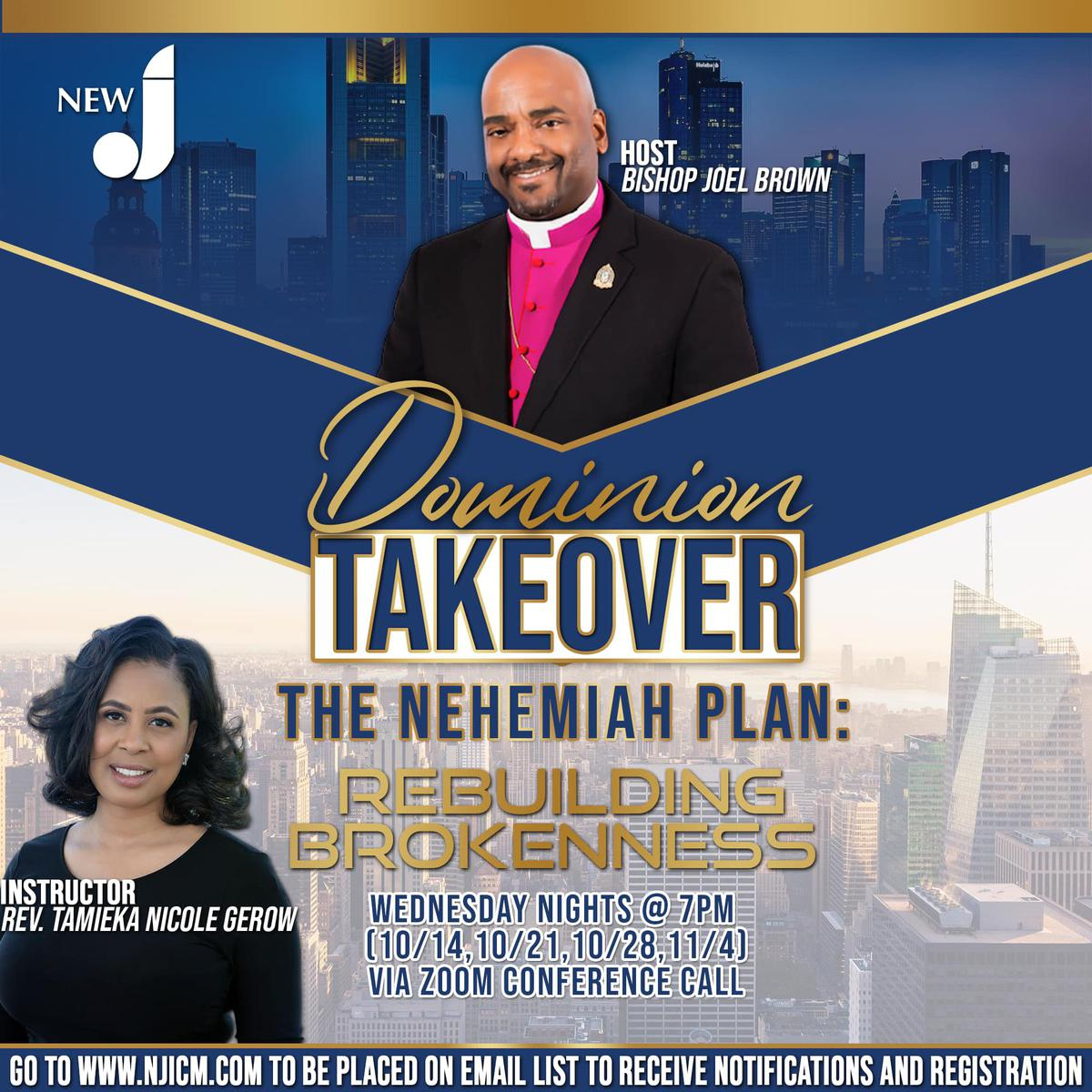 The Nehemiah Plan: REBUILDING BROKENNESS
