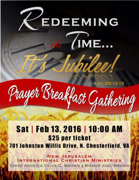 Prayer Breakfast Gathering