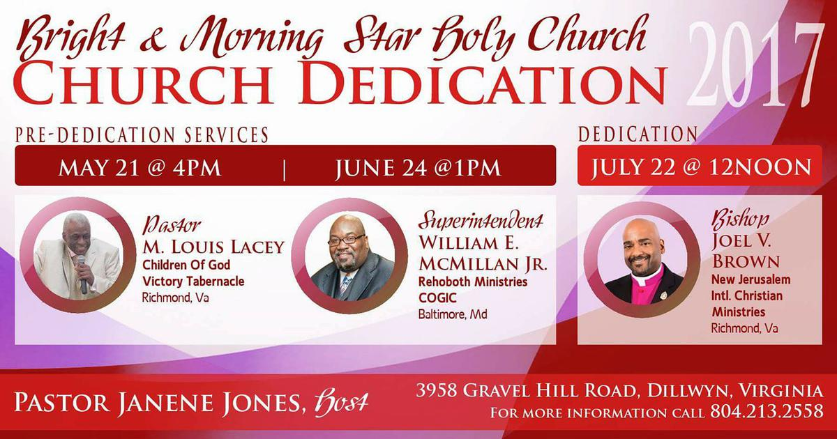July 22 - Bishop Joel Brown - speaker