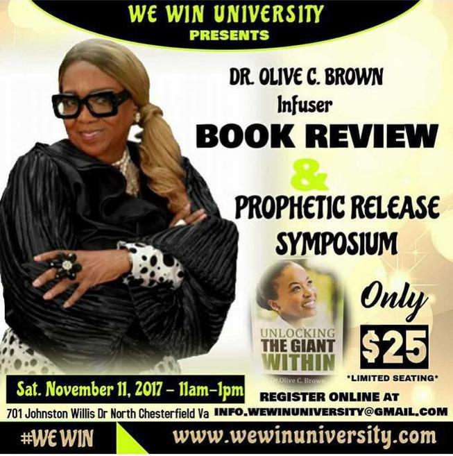 Hosted by Chief Apostle Olive C. Brown