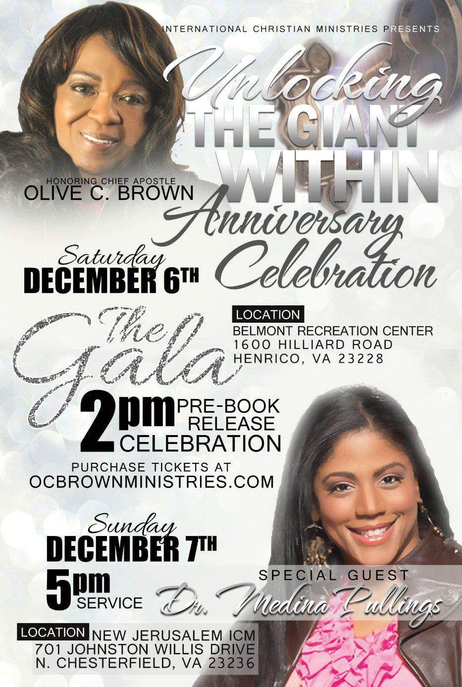 Unlocking The Giant Within Pre-Launch Anniversary Gala