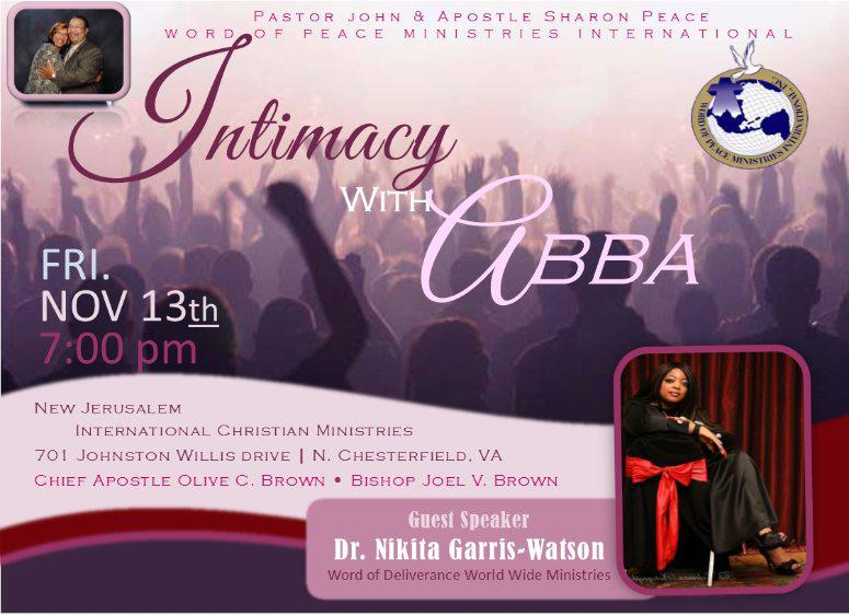 Intimacy With Abba