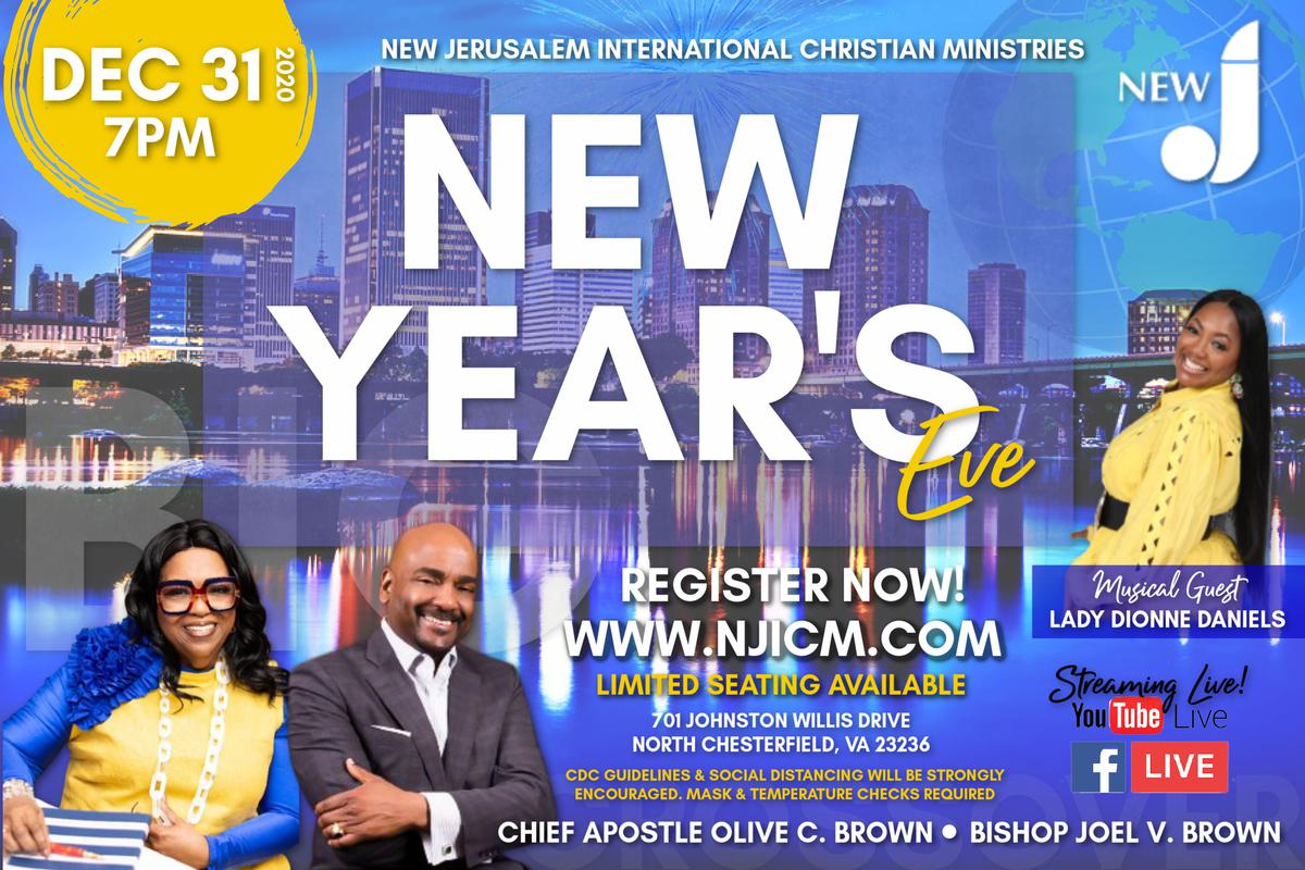 Spend New Year's Eve with NJICM
