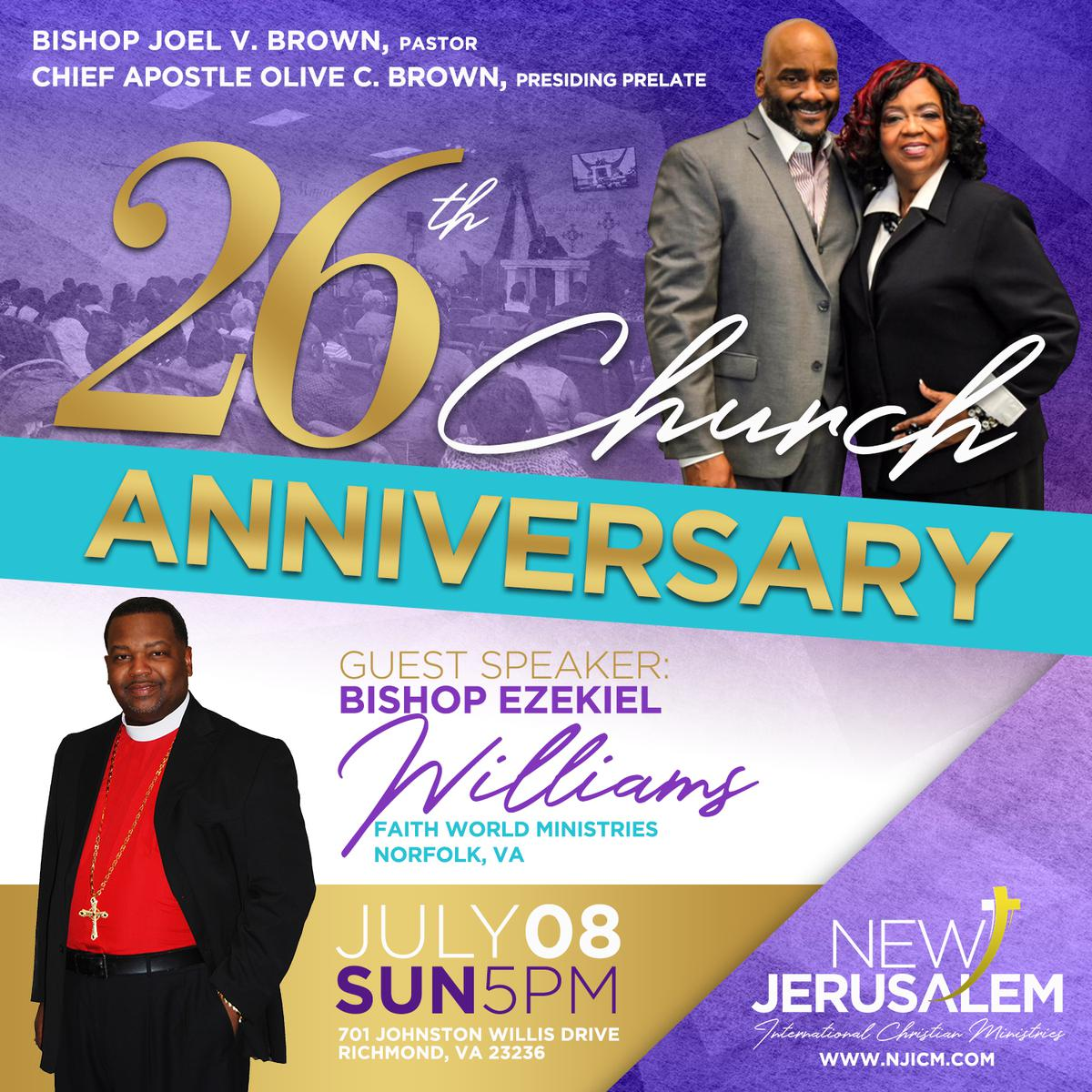 26th Church Anniversary