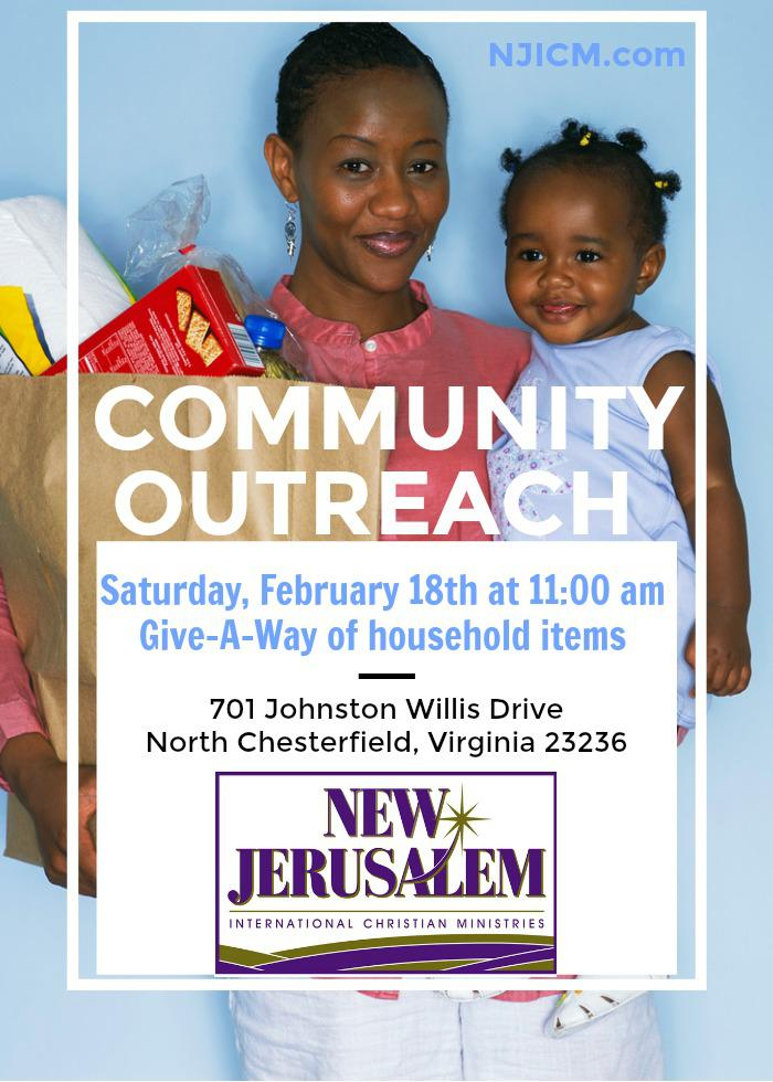 Community Outreach Saturday at NJICM