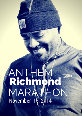 Prophet Joel Brown is running the Anthem Richmond Marathon!
