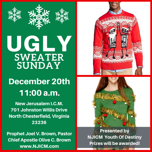 Ugly Sweater Sunday