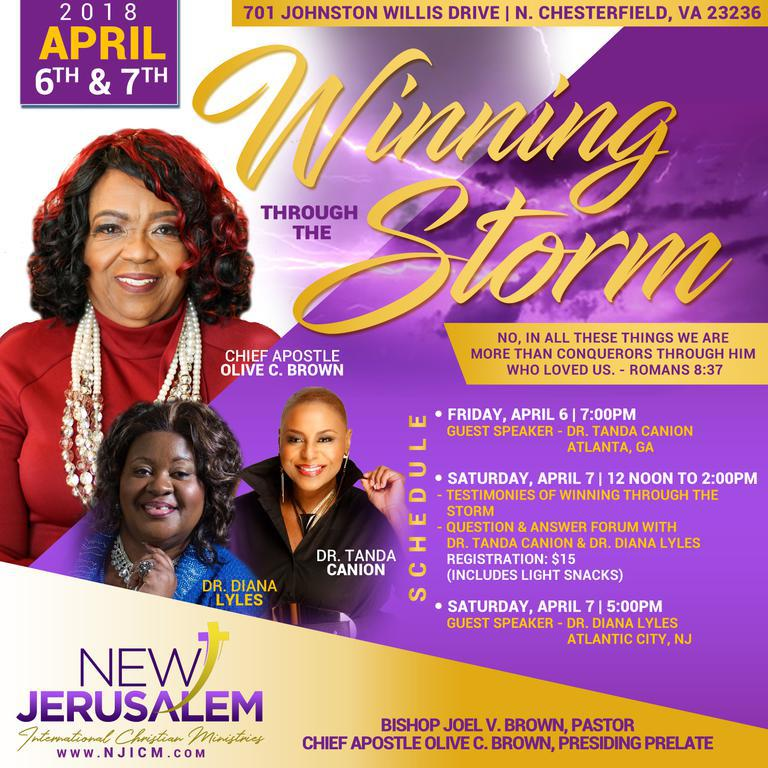 Winning Through The Storm Conference