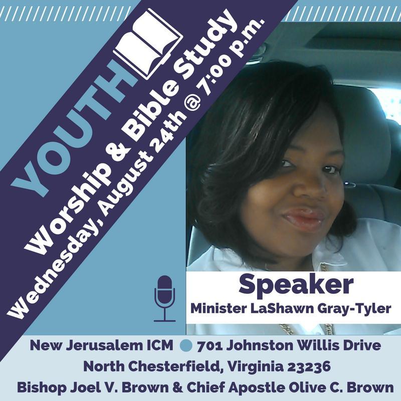 Speaker: Minister LaShawn Gray-Tyler