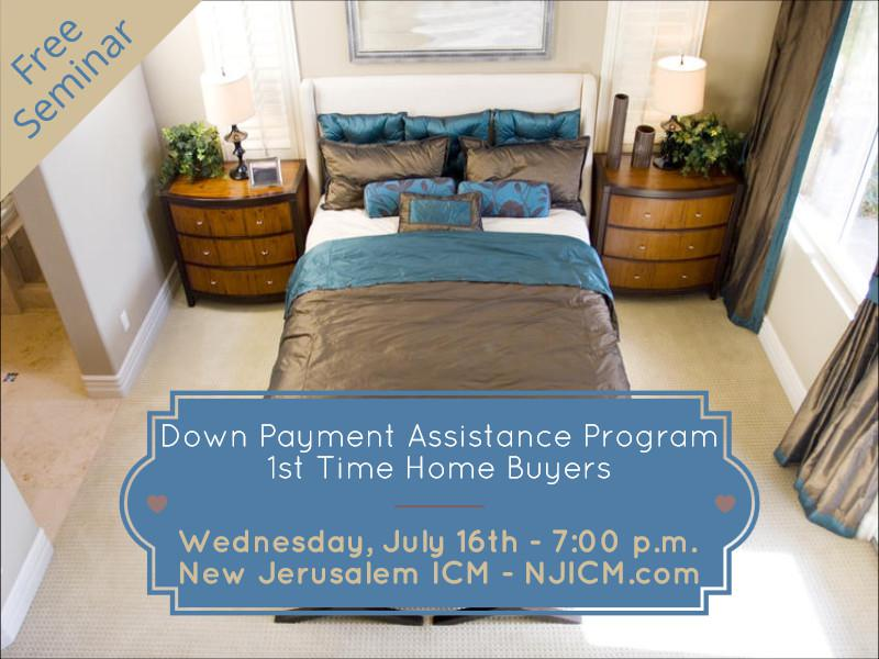 Down Payment Assistance Program - 1st Time Home Buyers