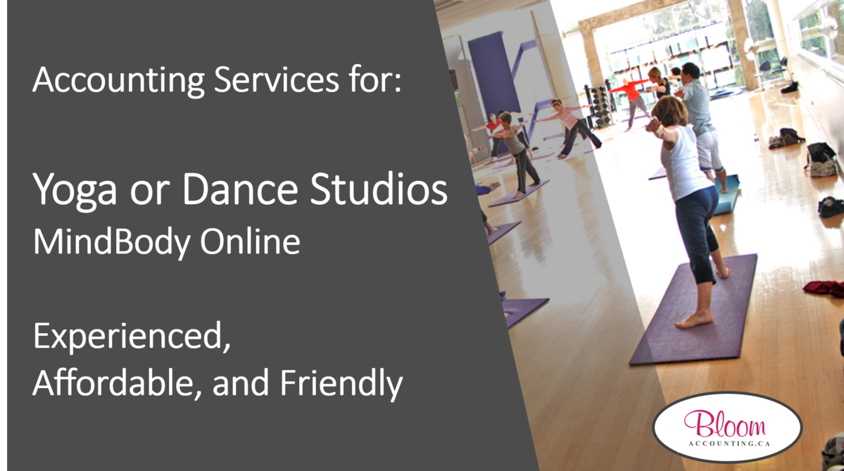 Accounting Services for Yoga or Dance Studios