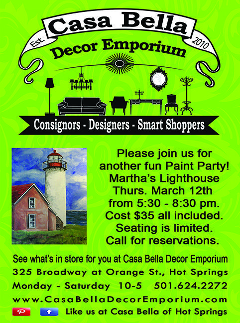Please join us for a fun Paint Party ~Martha's Lighthouse