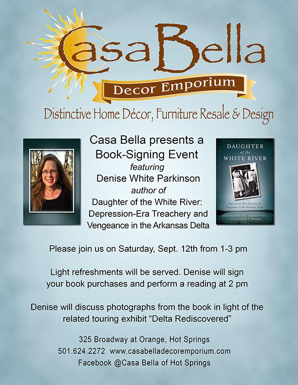 Book-Signing Event featuring Denise White Parkinson