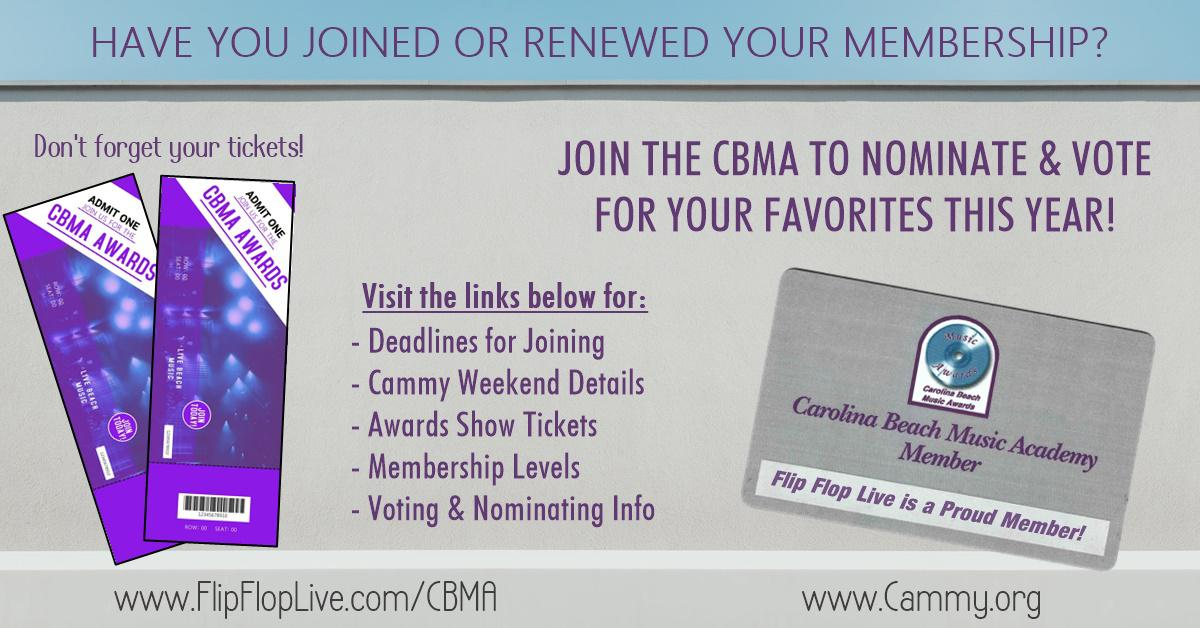 Time to Join or Renew with the CBMA