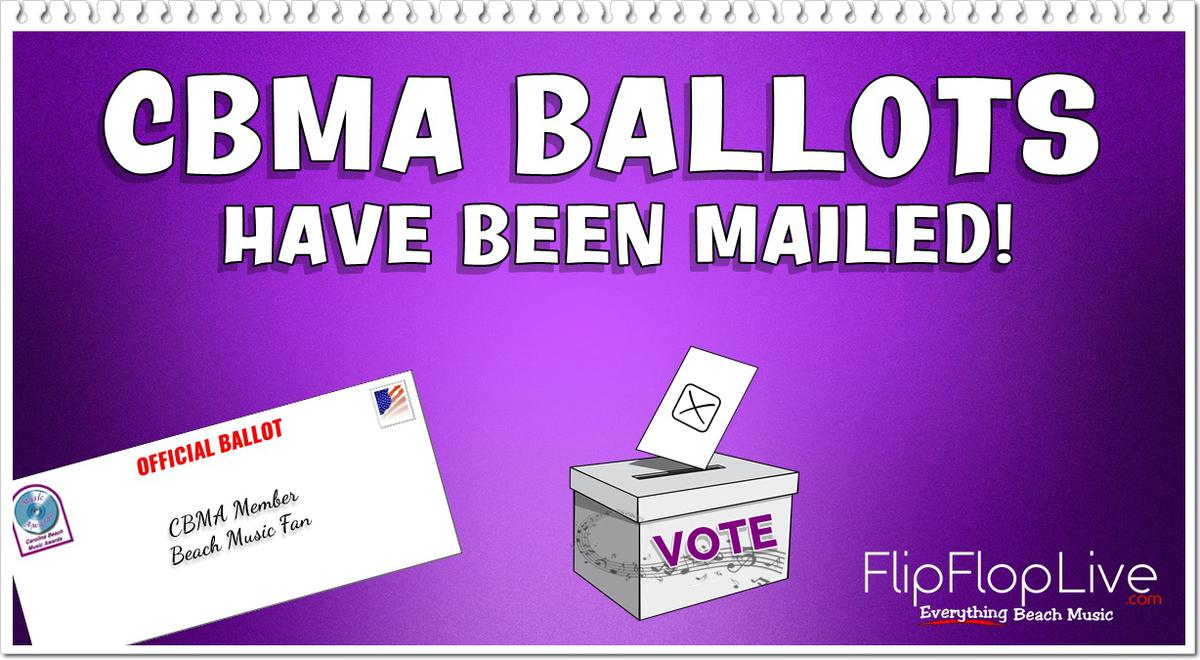 CBMA Ballots Have Been Mailed!