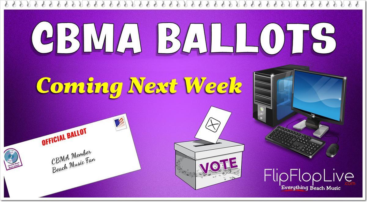 CBMA Ballots Coming Next Week!