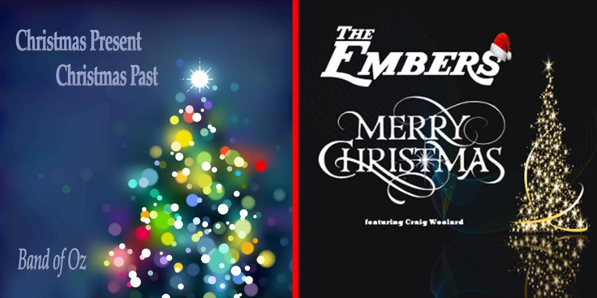 Embers & Band of Oz Christmas CDs