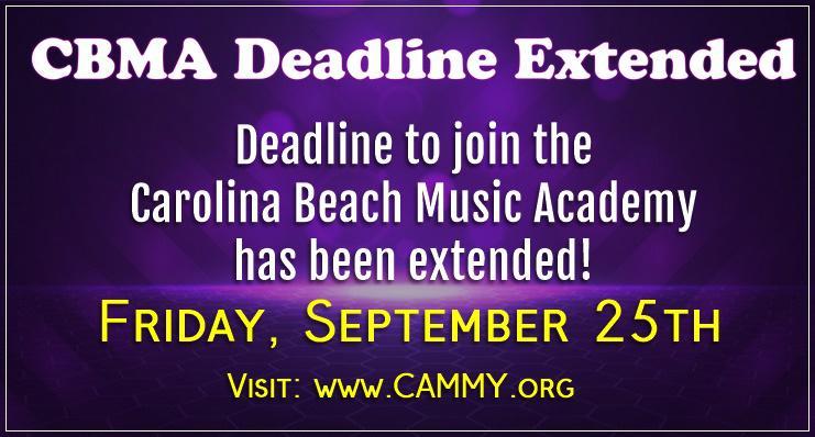 CBMA Deadline Extended