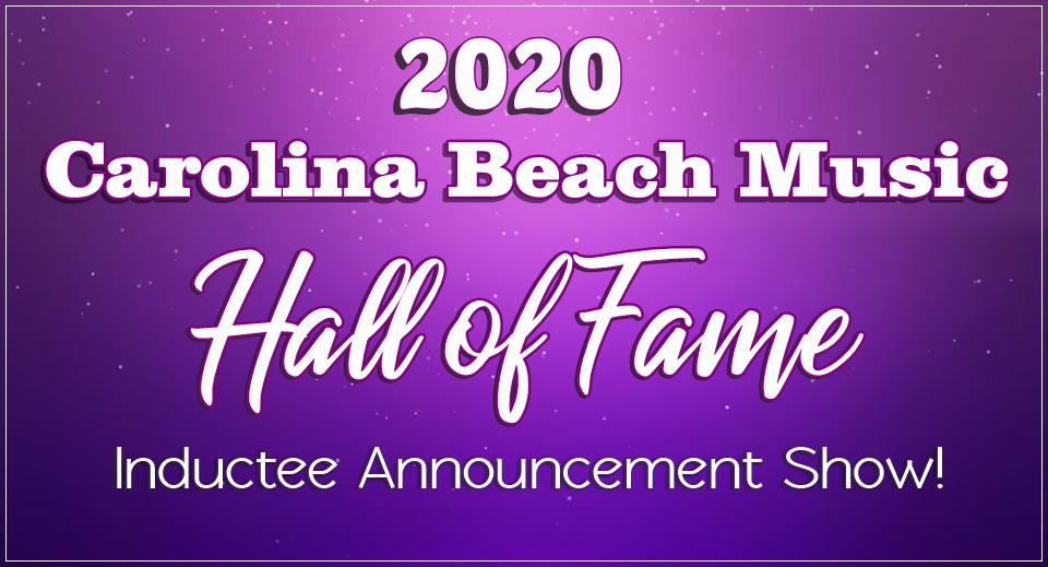 Carolina Beach Music HOF 2020