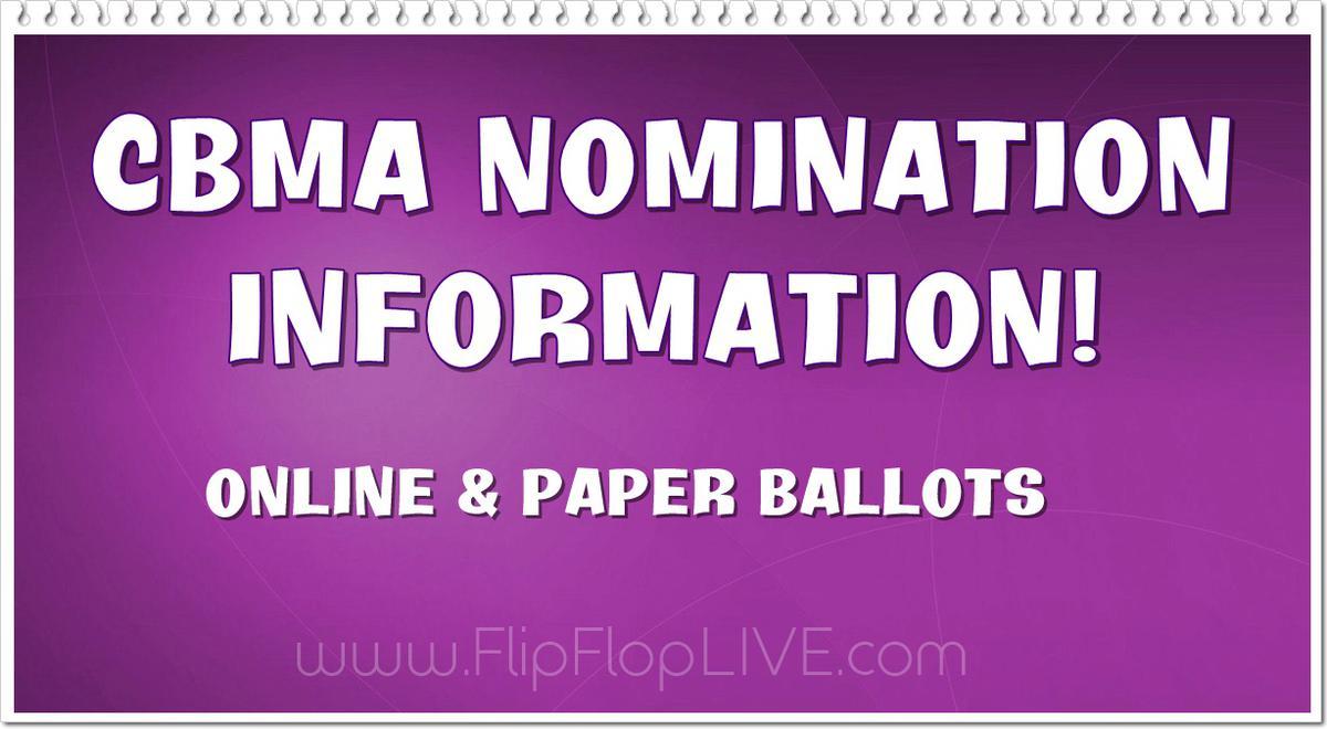 2019 CBMA Nomination Information