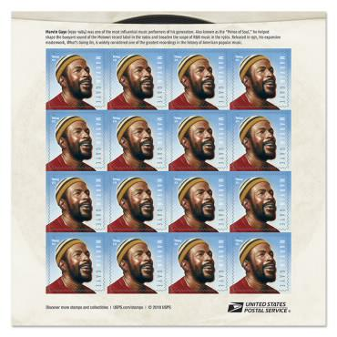 USPS Marvin Gaye Stamp