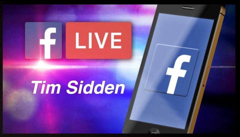 Major Announcement from Tim Sidden