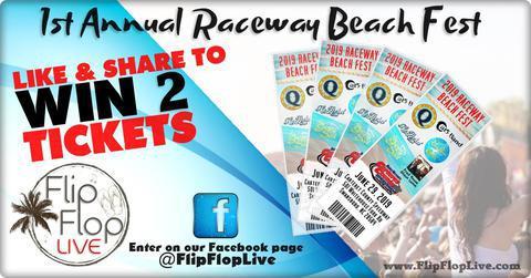 Win Raceway Beach Festival Tickets
