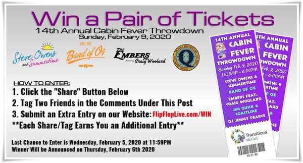 Win a Pair of Tickets to Cabin Fever Throwdown