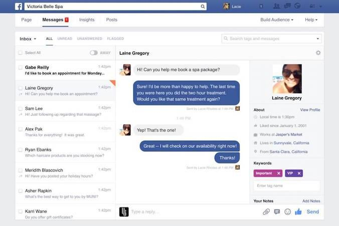 New Tools For Managing Communication On Your  Facebook Fanpage