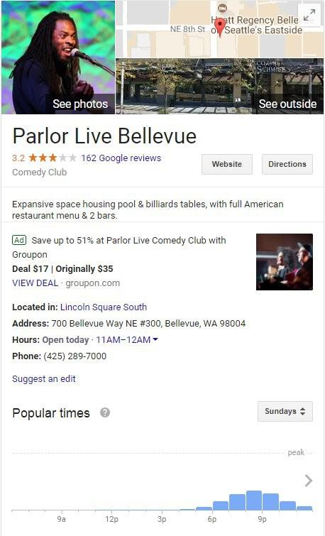 Google Testing Ads On Local Knowledge Panel