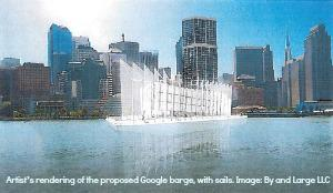 Google Builds a Barge...