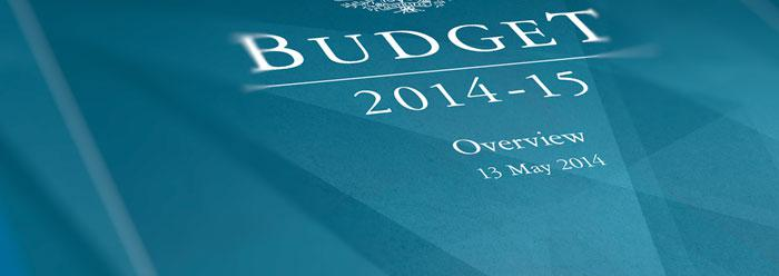 2014 Budget - Personal Finance summary