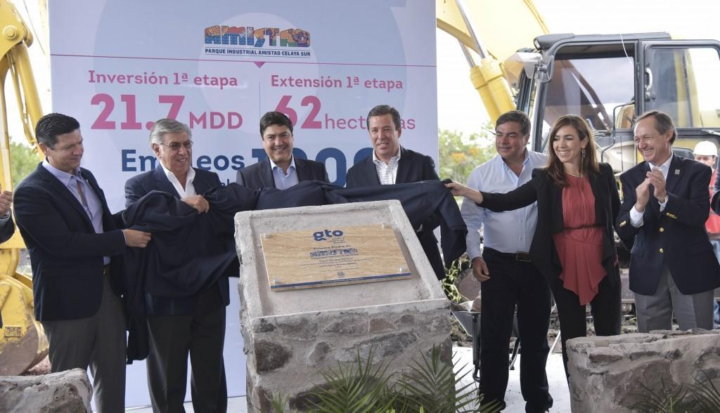 Amistad Industrial Developers announced NEW DEVELOPMENT in Central Mexico!!