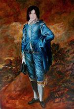 Michael Jackson as The Blue Boy