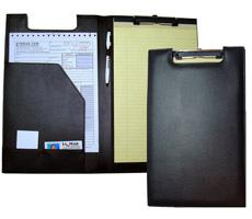 Legal Size Padfolio with Wire Clip