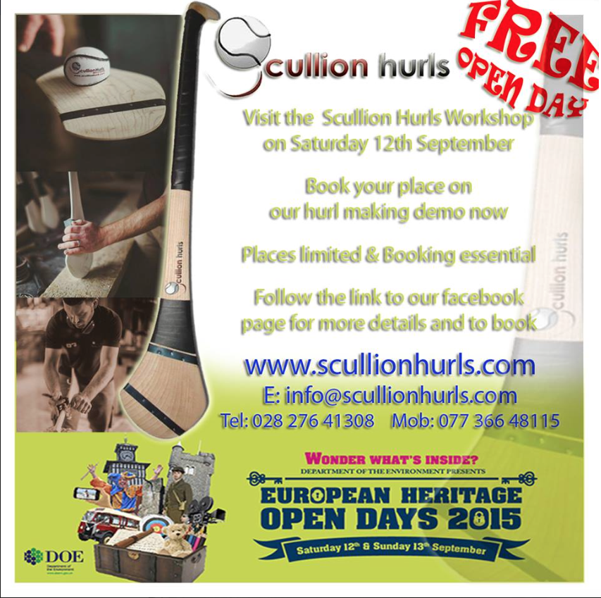 European Heritage Craft Day At Scullion Hurls