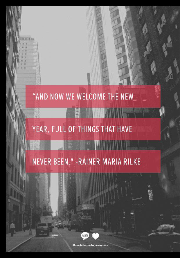 Welcome the New Year