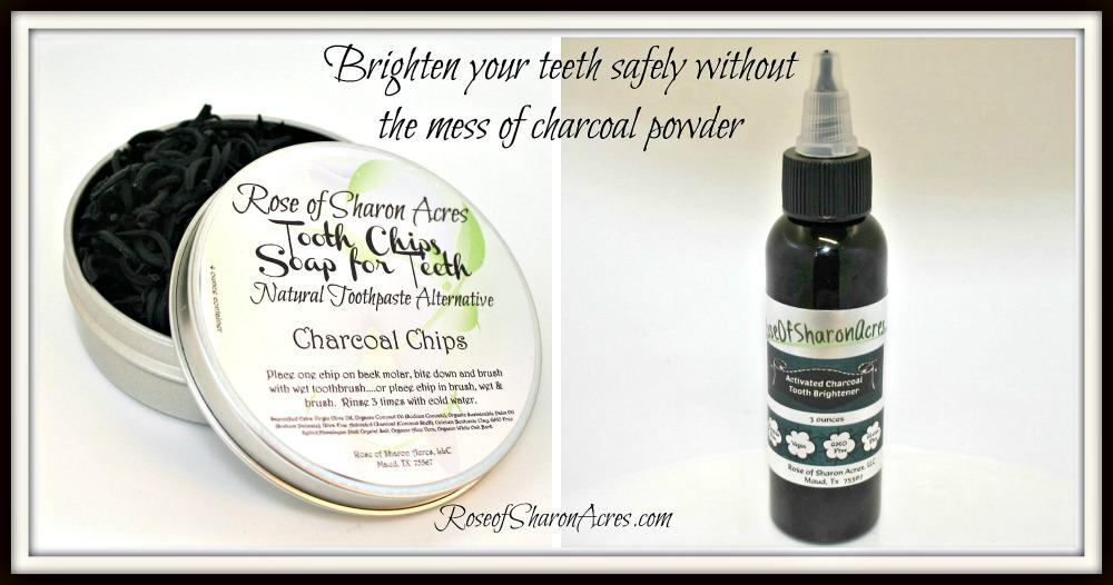 Charcoal for Whitening Teeth