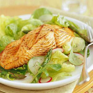 Asian Salmon Salad Recipe