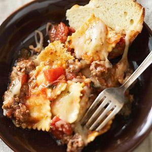 Baked Beef Ravioli Recipe